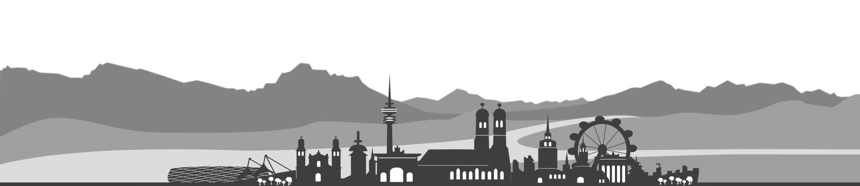 Banneransicht Skyline München PVF