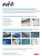 PVF GmbH Flyer Metall-Serie Kachelfoto deutsch