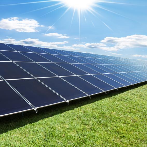 PVF GmbH Foto einer Solarzellenanlage