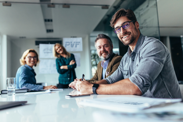 PVF GmbH arbeiten im Team