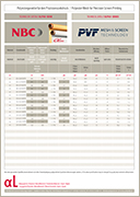 PVF GmbH | Flyer screenprintingmesh alpha series