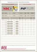 PVF GmbH | Flyer screenprintingmesh beta series