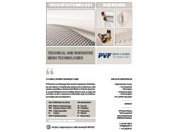 PVF GmbH | Flyer technical mesh