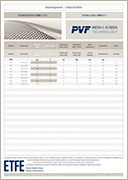PVF GmbH   Flyer Industrial EFTE Mesh