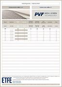 PVF GmbH | Flyer Industrie EFTE Gewebe